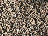 50 kg Lava Mulch 2-8 mm - Pflanzgranulat Lavastein Lavasteine Lavamulch Dachbegrünung Lavagranulat - LIEFERUNG KOSTENLOS