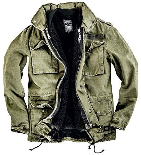 Black Premium by EMP Field Jacket Giacca verde oliva 4XL