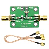 WayinTop 1pcs 0.1-2000MHz RF WideBand Amplifier 30dB High Gain Low Noise LNA Broadband Signal Receiver Radio Amplification + 2pcs 20cm SMA Male to SMA Male RG316 RF Coaxial Coax Cable Adapter Jumper