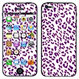 """atFoliX Designfolie """"Punky Leona Leopard"""" f�r Apple iPhone 5 - ohne Displayschutzfolievon """"Designfolien@FoliX"""""""