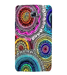 printtech Ethnic Floral Pattern Back Case Cover for Samsung Galaxy J2 / Samsung Galaxy J2 J200F