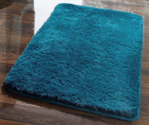 dyckhoff opal 0900527489 tappeto da bagno 50 x 80 cm verde petrolio. Black Bedroom Furniture Sets. Home Design Ideas
