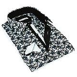 John Lennon Men's Black Floral Fashion Shirt