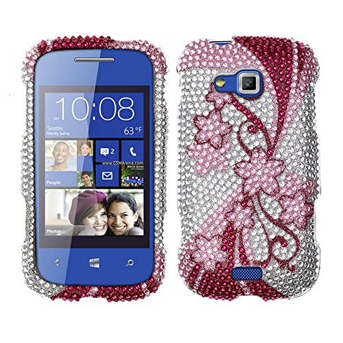 Click to buy Fincibo (TM) Bling Crystal Full Rhinestones Diamond Case Protector For Samsung ATIV Odyssey I930 - Cherry Flower - From only $26.99