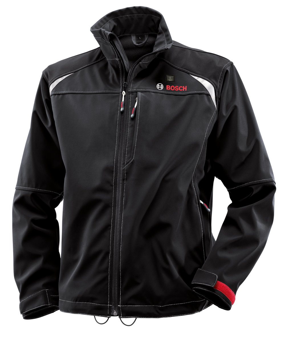 Bosch PSJ120L 12-Volt Max Lithium-Ion Softshell Heated Jacket