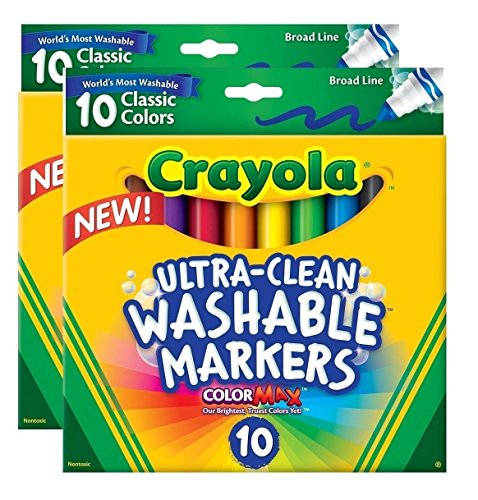 crayola-ultraclean-broadline-classic-washable-markers-10-count-pack-of-2