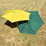 Molor PetBrella Tie-Out Stake with Umbrella in Yellow