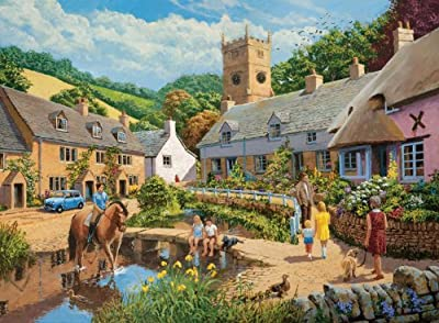 Ravensburger Village Life Puzzles (2 x 500 Pieces)
