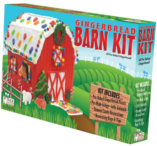 Wild Baker Barn Gingerbread Kit 1 Count Packages Pack Of 2