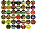 40-count Coffee, Hot Chocolate & Tea Single Serve Cups for Keurig K Cup Brewers Variety Pack Sampler