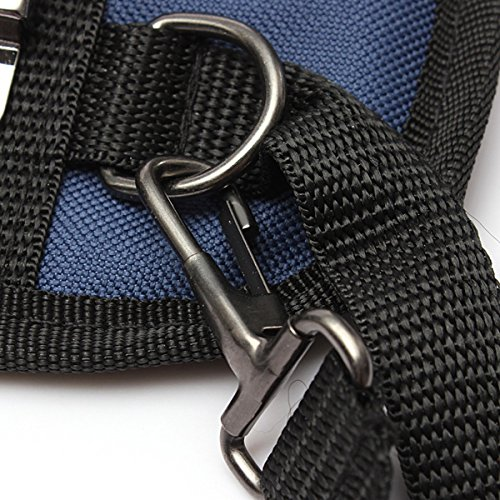 (1065-i) 3 POCKET PROFESSIONAL ELECTRICIAN TOOL BELT POUCH WITH TAPE