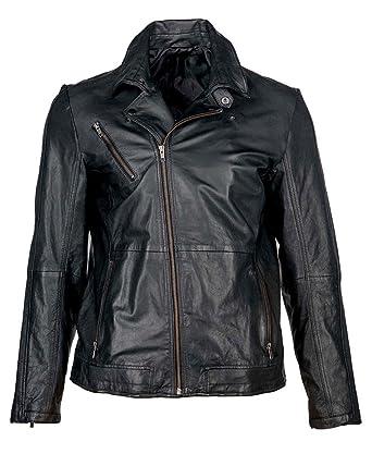 JCC Lederjacke, Herren Biker2 (black)