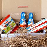 Children's Kinder Treat Easter Box - Bunnies, Mini Eggs and Medium Chocolate Bars - By Moreton Gifts