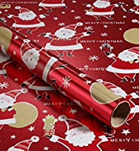 4m Jolly Santa Christmas Wrapping Paper