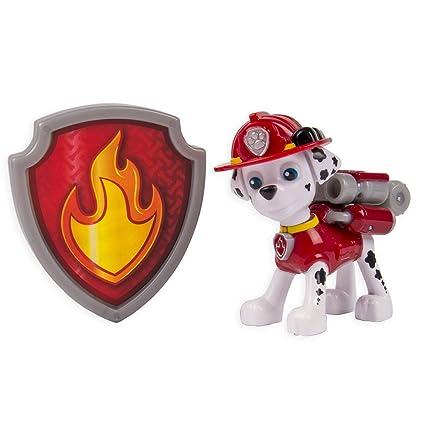 Paw Patrol - Action Pack - Marcus - Figurine Sac à Dos et Badge