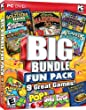 Big Bundle Fun Pack Includes: Atlantis Coral Quest, Ultimate Solitaire, Mahjongg 20, Magicians Handbook, Eco-Match, Super Aneurysm, Pop, Pop, POP!, Soda Pipes & The Lost Treasures Of Alexandria (Anglais Import) PC
