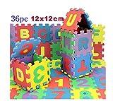 coolshiny 36 pcs Puzzle estera tapete de juego puzzleteppich para niños