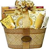 Art of Appreciation Gift Baskets Golden Elegance Gourmet Food Gift Basket