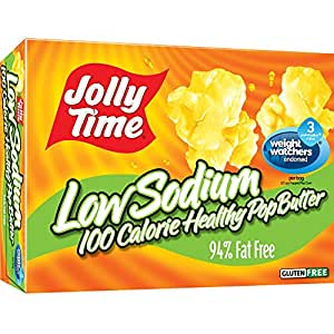 Amazon.com: Jolly Time Low Sodium Healthy Pop Butter - 100