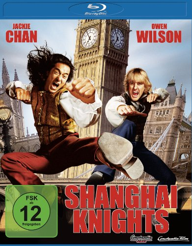 Shanghai Knights [Blu-ray]