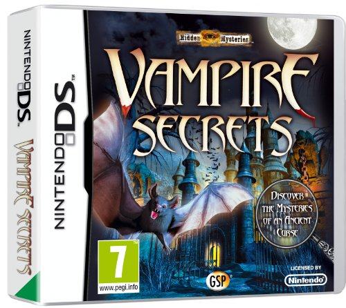 Hidden Mys Vampire Secrets  (Nintendo DS)