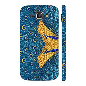 Enthopia Designer Hardshell Case The Peacock's Reflection Back Cover for Samsung Galaxy J1 (2016)