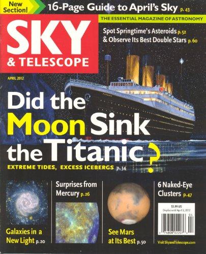 Sky & Telescope Magazine April 2012 (Volume 123 # 4)