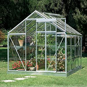 Greenline 6- By 8-Foot Backyard Hobby Greenhouse