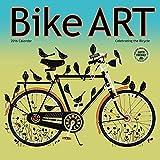 Bike Art 2016 Wall Calendar by Amber Lotus