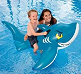 Intex 56567EP FRIENDLY RIDE-ON SHARK Swimming Pool Inflatable Water Lounger Toy-2 Pack