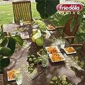 Gartentischdecke CAPRI 2011, 130 x 160 cm eckig von Friedola - Gartenmöbel von Du und Dein Garten