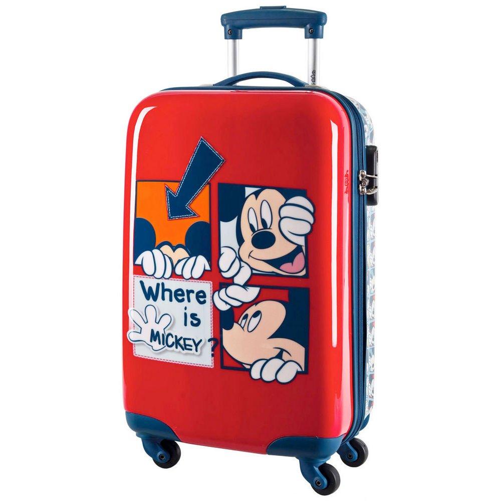 Koffer trolley Disney Mickey netzwerk ABS 68cm bestellen