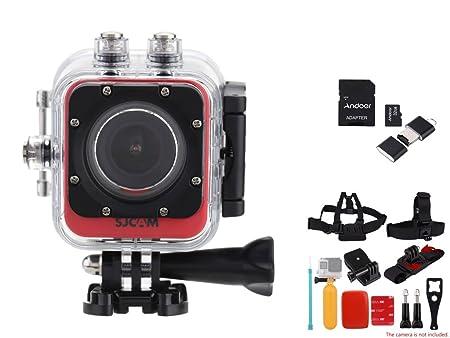 SJCAM M10 + Wifi Mini DV Full HD 2K(2560*1440) 1080p 60 fps 12MP Novatek 96660 plongée 30M casque PC Action Sports caméra caméscope + 8en1 Accessoires + carte de TF carte mémoire de 32 Go