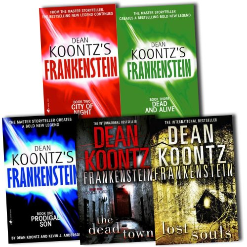 Frankenstein Series Books 1-5, Dean Koontz