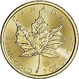 2016 CA Canada Gold Maple Leaf (1 oz) $50 Brilliant Uncirculated Royal Canadian Mint