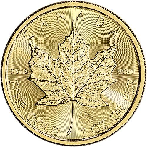 2016 Canada Gold Maple Leaf (1 oz)