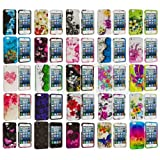 myLife Pink + White Cherry Blossoms and Bees Series (2 Piece Snap On) Hardshell Plates Case for the iPhone 5/5S (5G) 5th Generation Touch Phone (Clip Fitted Front and Back Solid Cover Case + Rubberized Tough Armor Skin)