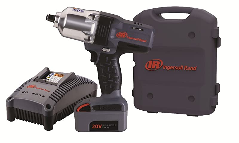 "Ingersoll Rand W7150-K1 ½"" Hi-Torque Impact One Battery Kit via Amazon"