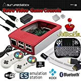 GuruMediaBox 32GB Raspberry Pi 3 RetroPie Retro Game Console Emulation Station Mini PC Kodi