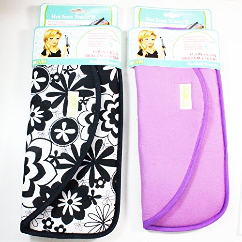 Hot Flat Iron Travel Bag Curling Styling Heat Resistant Pouch Holder Carrier New (Flat Iron Holder Travel compare prices)