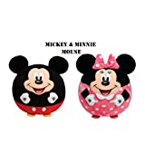 TY Beanie Babies Ballz Mickie and Minnie Mouse Exclusive 2 Pack