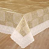 Bianca La-Italia PVC 8 Seater Table Cloth - White