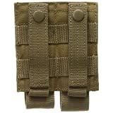 Voodoo Tactical Pistol Double Mag Pouch, Coyote