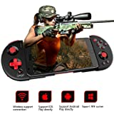 IPEGA PG-9087S Upgraded Version of The Bluetooth Gamepad Multimedia Game Controller Joystick Compatible with Android/iOS for iOS iPhone, Android Phone, Smart Phone/Tablet/Smart TV/Set Top Box