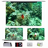 10 PCS Macbook Pro/Air 11 13 15 Inch Skin Decal Sticker - Animals Fish Corals Underwater World