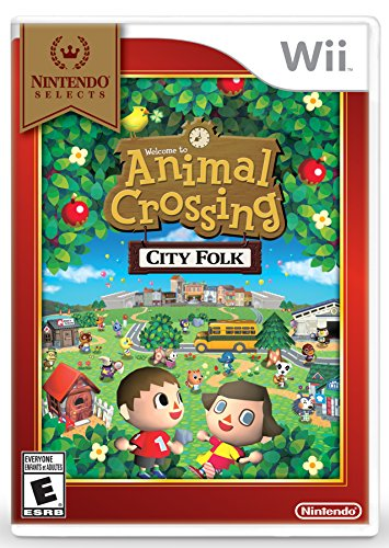 Nintendo Selects: Animal Crossing: City Folk (Animal Games For Wii compare prices)