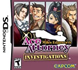 Ace Attorney Investigations Miles Edgeworth (DS 輸入版 北米) - Capcom