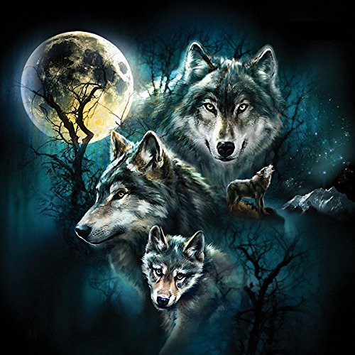 Wolf Family Collage a 500-Piece Jigsaw Puzzle by Sunsout Inc.