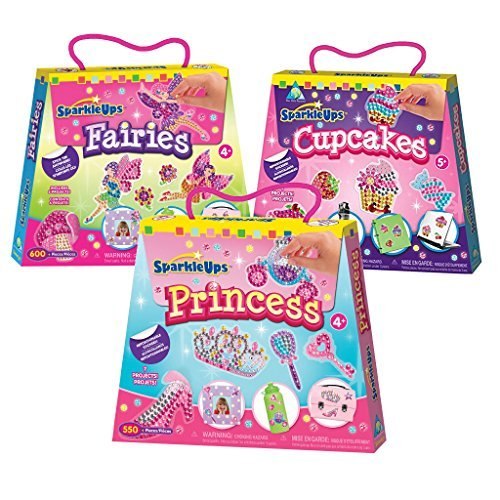 arts and crafts kits for girls with sparkle stickers toys
