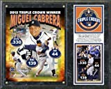 Miguel Cabrera Detroit Tigers 2012 AL Triple Crown Composite Plaque 12x15 at Amazon.com